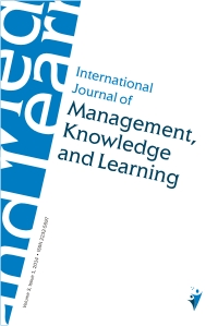 International Journal of Management, Knowledge and Learning |